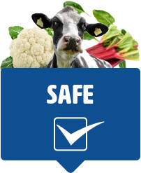 Red Tractor tractor safe tick